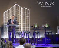 WINX Tower Foundation Stone Speach